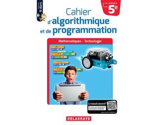 cahier d'algorithmique et de programmation Cycle 4-5éme - livre prof
