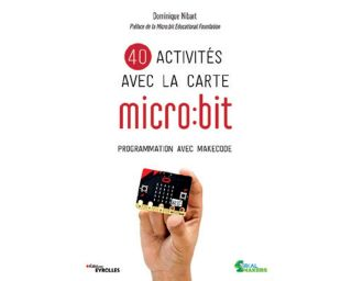 Livre 40 activités avec la carte microbit