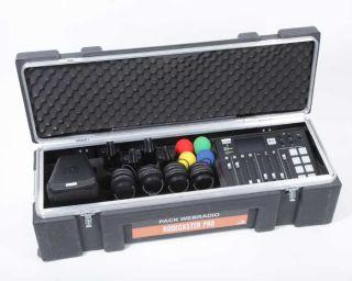 Valise rigide avec mousse usinée pour pack WebRadio Rodecaster Pro