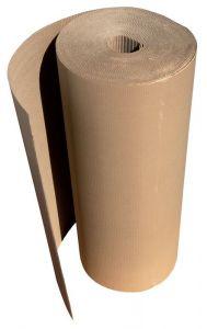 CART-ONDUL-SF-100 Carton ondulé simple face 350 g/m2 - Laize 100 cm x 55 m