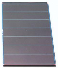 CELSA-14-144-072 Cellule solaire Si amorphe - 144x72mm, 14 bdes,50mA/7,3V@1kW/m²