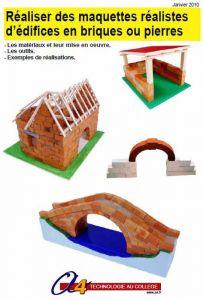 Dossier briques et pierres pour maquette