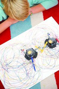 DA-3280 Robot doodle