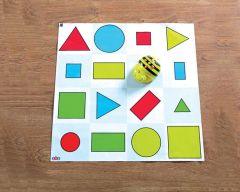 Tapis formes, couleurs et tailles, 60 x 60 cm