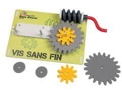 BE-VSF-Banc d'essai vis sans fin livré en kit