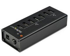 Chargeur USB avec adaptateur secteur - 7 ports