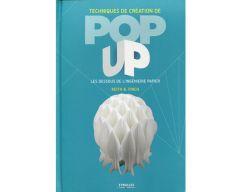 Livre techniques de création de pop up