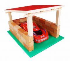 Kit complet pour la réalisation d'un abri de voiture