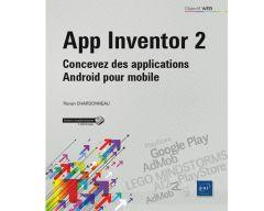 Livre App Invenor 2 - Concevez des applications Android pour mobile