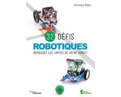 Livre 32 défis robotiques