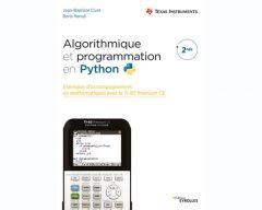 Livre Algorithmique et programmation en Python