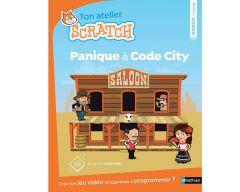 Livre Ton atelier Scratch - panique à code city