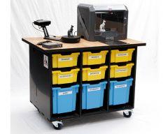 RLB-I3D-3D45-SE-ilot-roulab-imprimante-3D-dremel-3d45-scanner-einscan-se-version-sans-portes-sécurisées