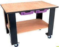 Meuble RouLab - Table établi légère - Version pré-équipé électrique