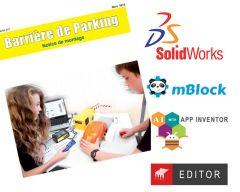 Dossier et ressources numériques offertes pour Maquette barrière de parking