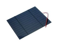 Panneau solaire 2,5W - 116 x 160 mm