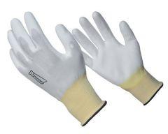 Gant nylon blanc - Taille 7