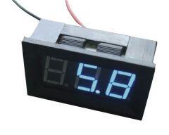 Voltmètre de tableau 4,5V à 30V